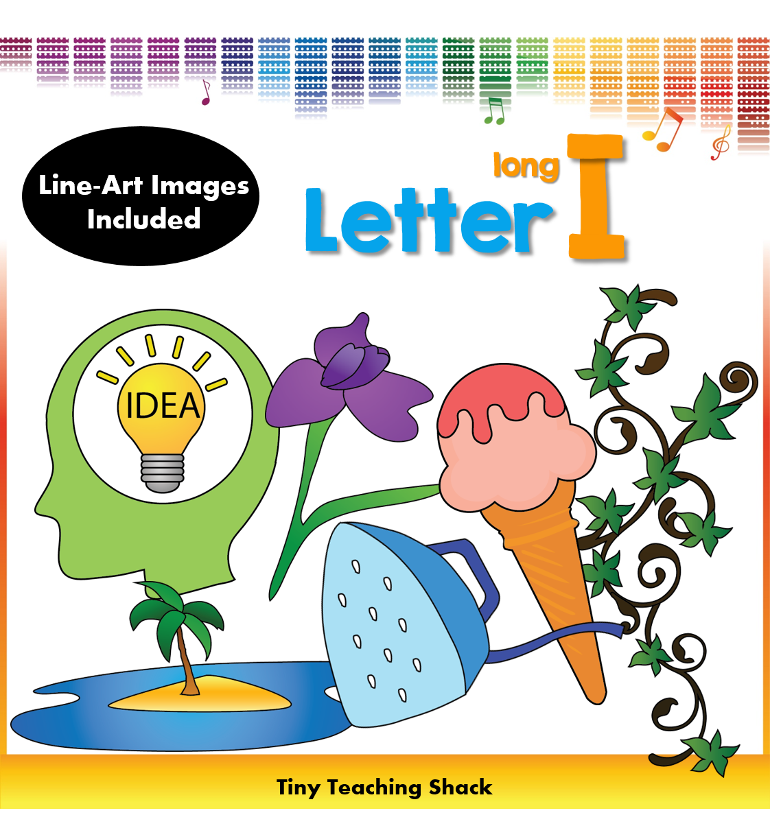 Phonics Clipart Beginning Sound Long I