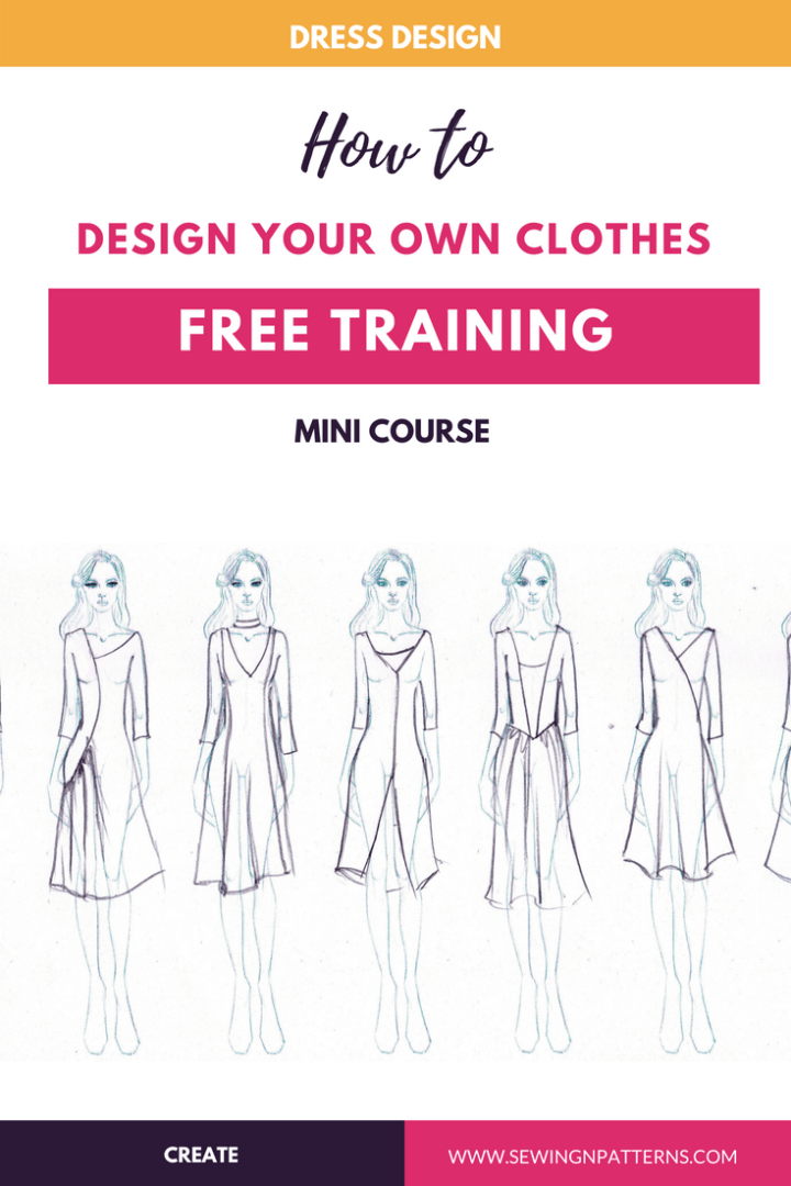 Learn How To Design Your Own Clothes Design Your Own Clothes Fashion Design Classes Plus Size Fashion Tips