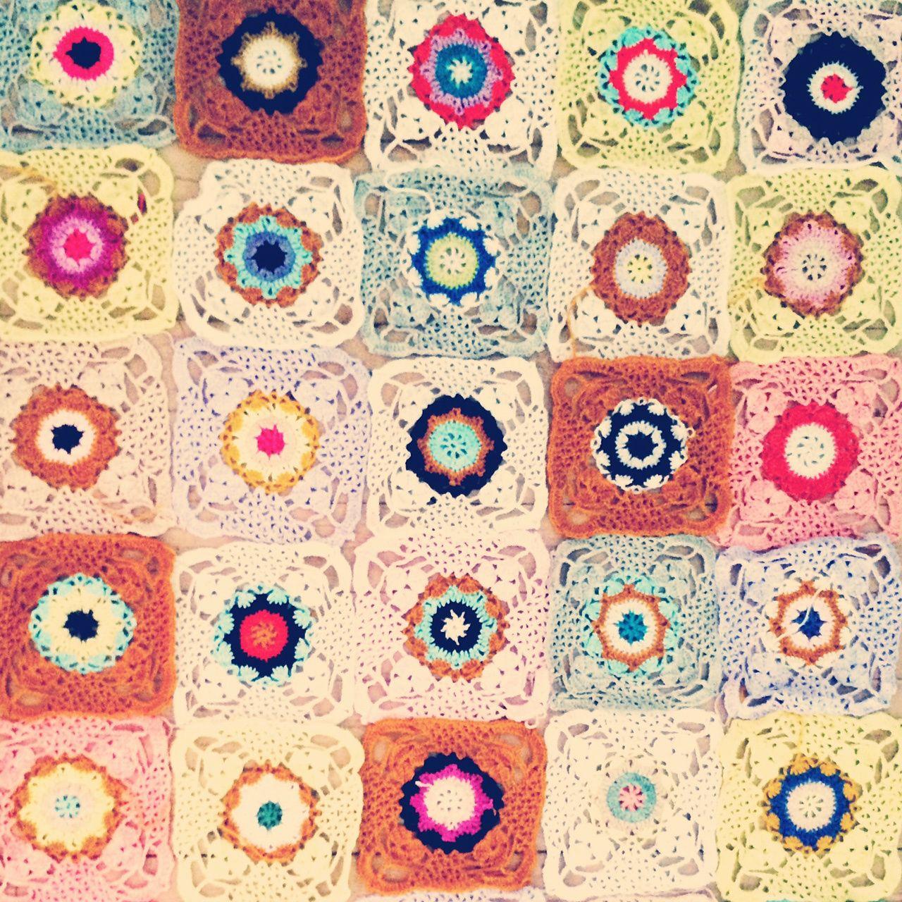 #crochet motifs by Elsbeth