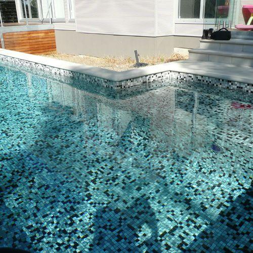 Emaux de verre ezarri 25008d mosaique piscine carrelage for Carrelage mosaique piscine