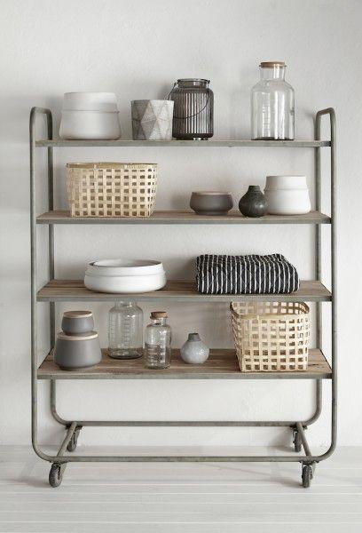 Küchenregal auf Rollen, hübsch interior, myadele.de | Kitchen ...