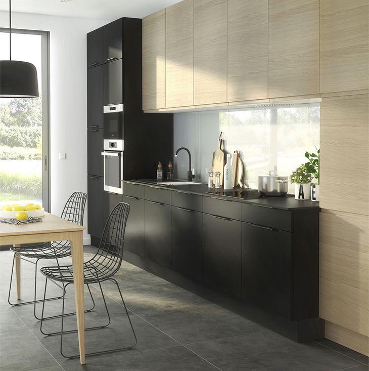 Back To Black Une Touche De Noir Dans Votre Déco My So - Carrelage cuisine noir pour idees de deco de cuisine