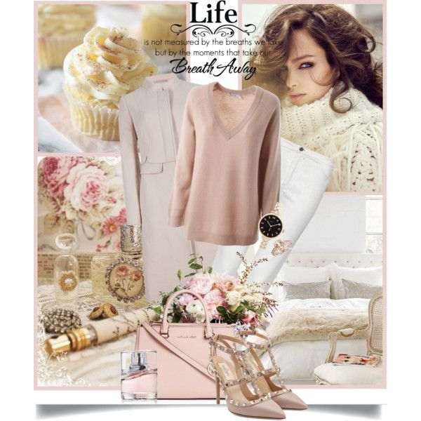 """""""You don't always need a plan. Sometimes you just need to breathe, trust, let go and see what happens."""" - Mandy Hale by danielle-broekhuizen on Polyvore featuring polyvore moda style T By Alexander Wang M&S Collection French Connection Valentino Michael Kors Marc by Marc Jacobs BOSS Hugo Boss"""