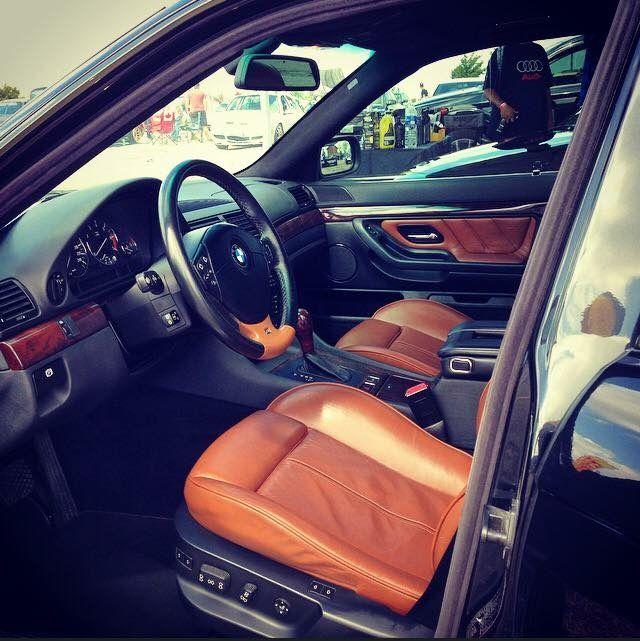 Bmw E38 Tobacco Brown Sport Seats Bmw E38 Bmw E39 Bmw