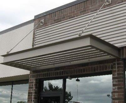 Aspen Roofing Can Custom Fabricate Metal Awnings For Your Windows To Help Provide Less Glare And Beauty The Exterior Of Home