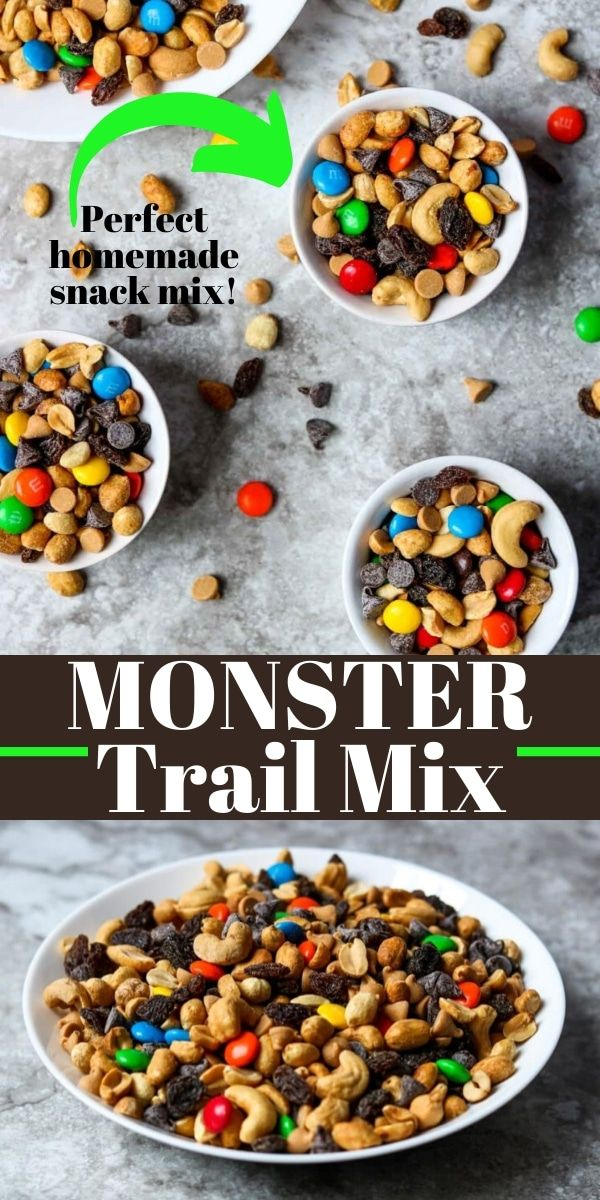 Homemade Monster Trail Mix