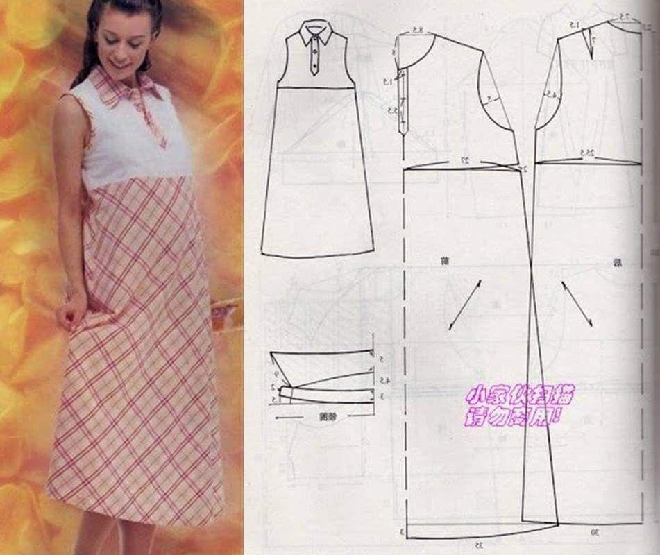 Pin de Gilma De Chabur en Patrones de vestidos | Pinterest | Ropa ...