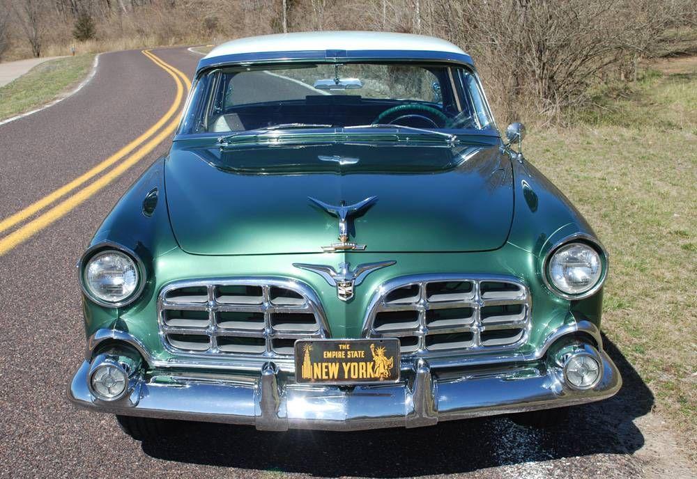 1956 Chrysler Imperial. Nice Chrome Grille. Chrysler