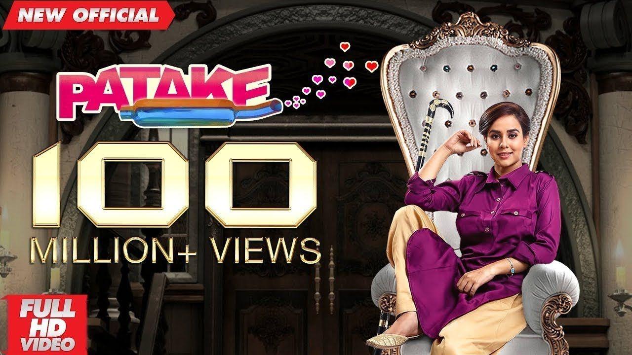 PATAKE | SUNANDA SHARMA | 100 Million | Latest Punjabi Songs