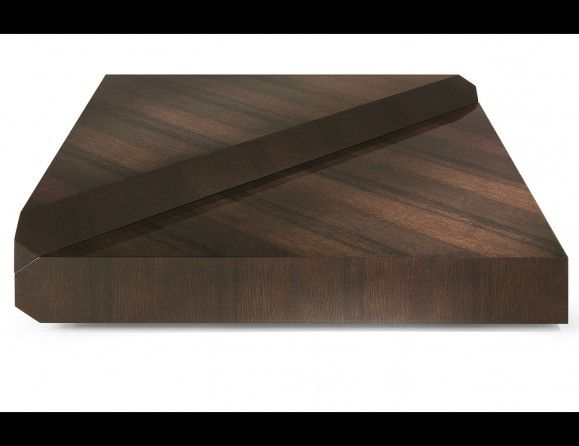 Nella Vetrina Vermeer Roberto Cavalli Home Modern Luxury Italian Coffee Table in Wenge