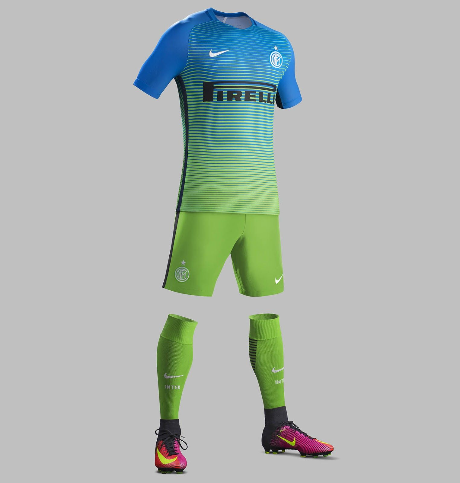 The New Nike Inter Milan 16 17 Third Kit Introduces A Bold Look In