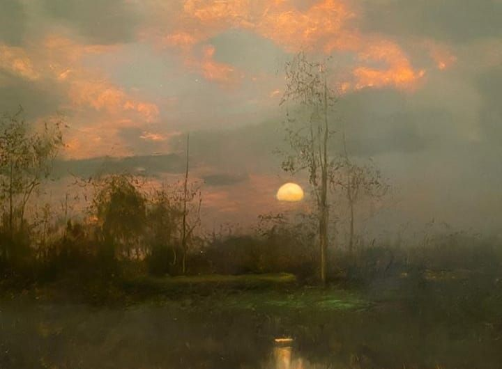 1 110 Likes 10 Comments Landscape Today Landscape Today On Instagram Justin T Worrell Justintworrell Contempo In 2020 Landscape Paintings Landscape Instagram