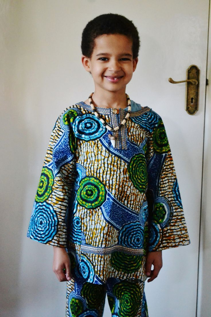 Traditional african clothing for kids photo images