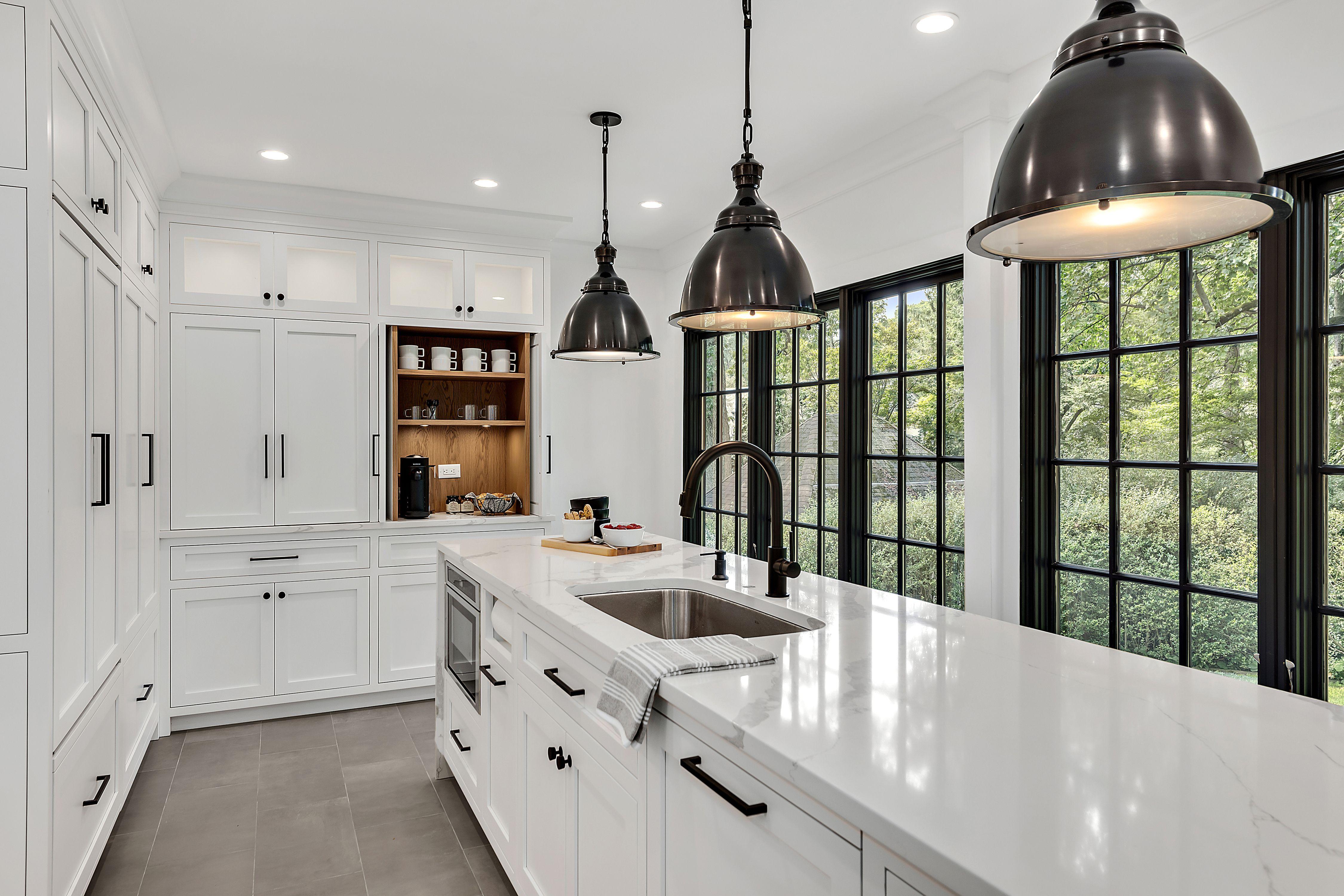 Birchfield Modern Kitchen in 2020 Kitchen remodel small