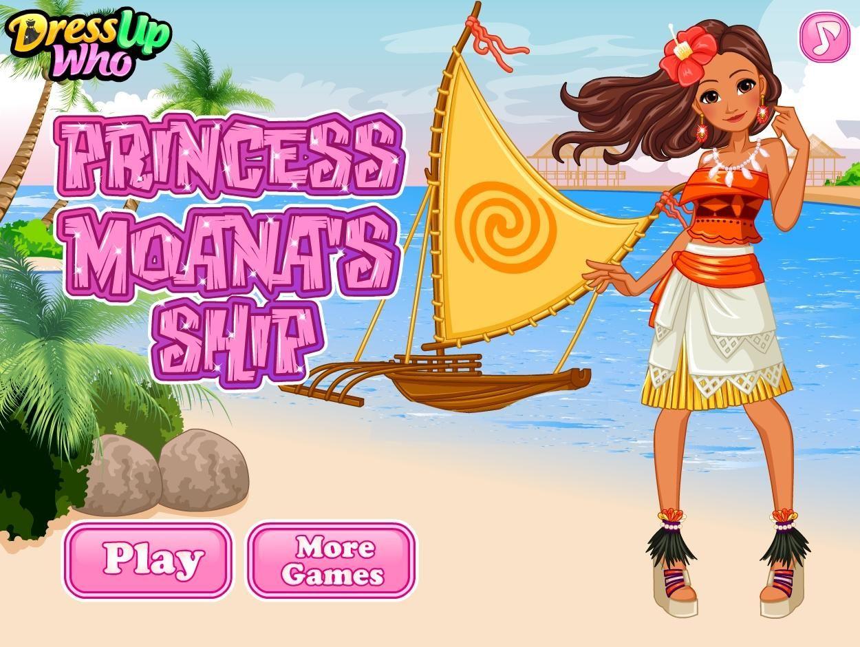 Piękna księżniczka Moana wybiera się na otwarte morze swoją łódką. Wybierz odpowiednie ubrania dla niej i zaprojektuj łódź!  http://www.ubieranki.eu/ubieranki/9810/ksiezniczka-moana_-zaglowka.html