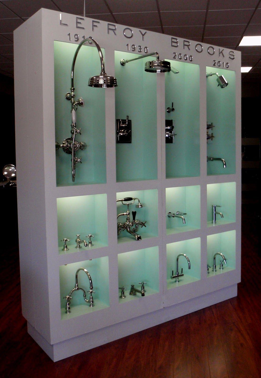 Lefroy Brooks Showroom Design Showroom Display Tile