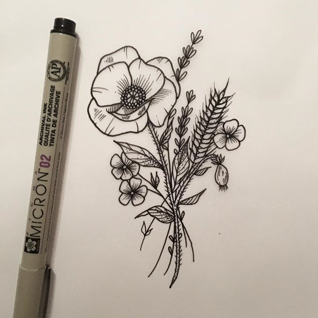 New Commission For Lougria Poppy Again Tattooapprentice Tattoodesign Mohnblumen Tattoo Weizen Tattoo Tattoo Hals