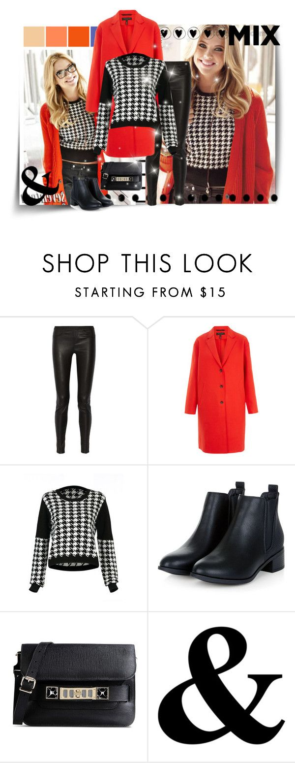 """Mix & Match"" by abigaillieb ❤ liked on Polyvore featuring Forum, Helmut Lang, rag & bone, Proenza Schouler, women's clothing, women, female, woman, misses and juniors"