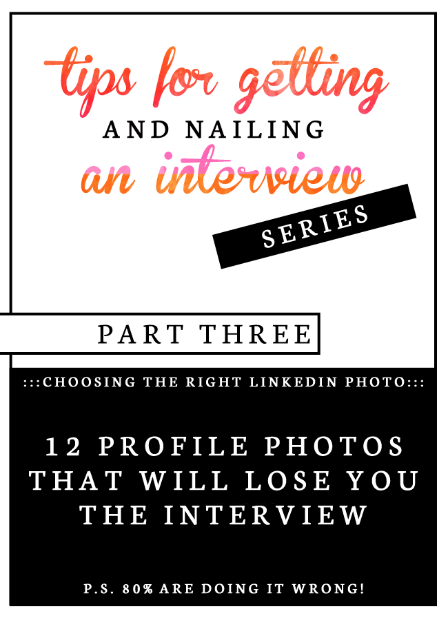 tips for getting and nailing an interview  choosing your