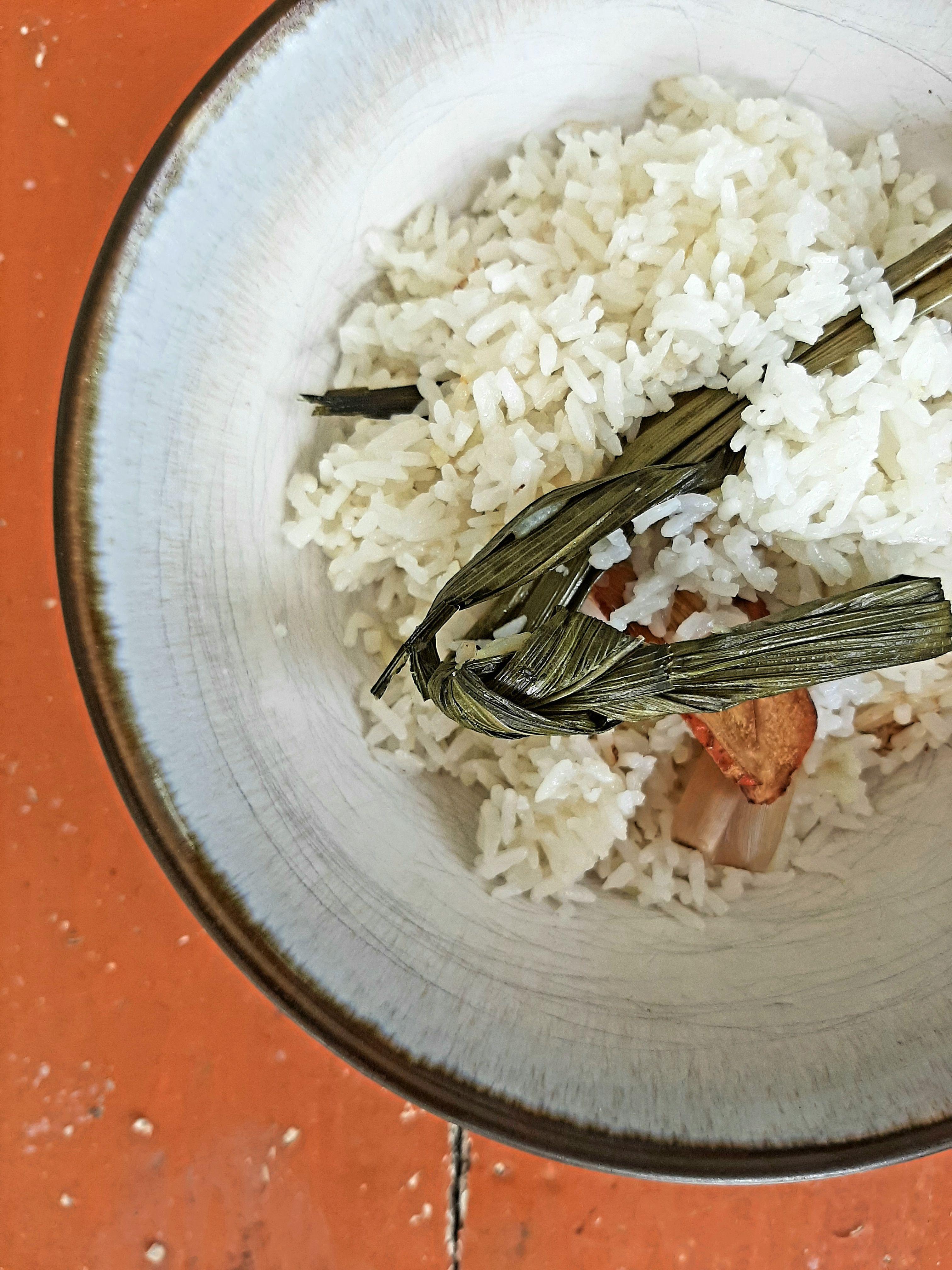 Nasi Lemak Coconut Amp Pandan Infused Rice Nasi Lemak Coconut Rice Coconut