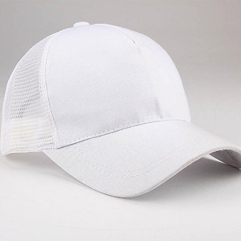3e8a51995c9cb Women s Accessories 2018 Ponytail Baseball Cap Women Messy Bun Baseball Hat  Snapback Sun Sport Caps