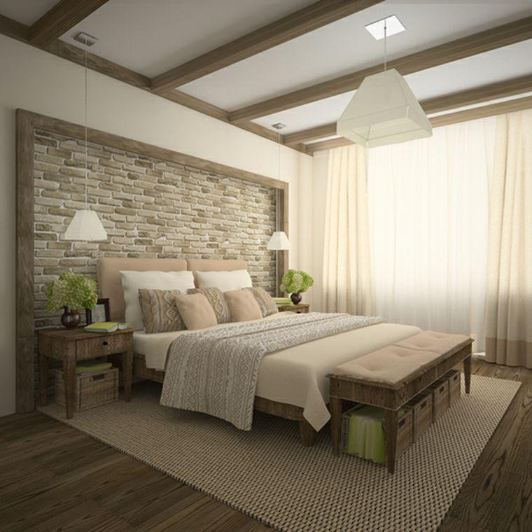 Detalles y mas opciones para decorar el dormitorio moderno for Ejemplo de dormitorio deco