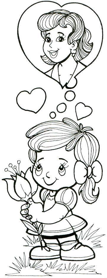Pin De Jhoany Montalvo En Dibujo Colorear Dia De Madres Dibujos Del Dia De Las Madres Dia De Las Madres Dibujo Para Mama