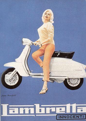 Jayne Mansfield for Lambretta Innocenti
