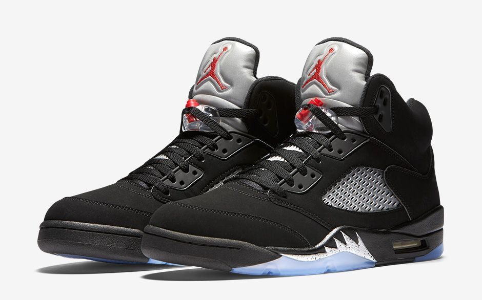 Air Jordan V (5) Retro Metallic Silver -Release Date  Saturday 922bfbc0b