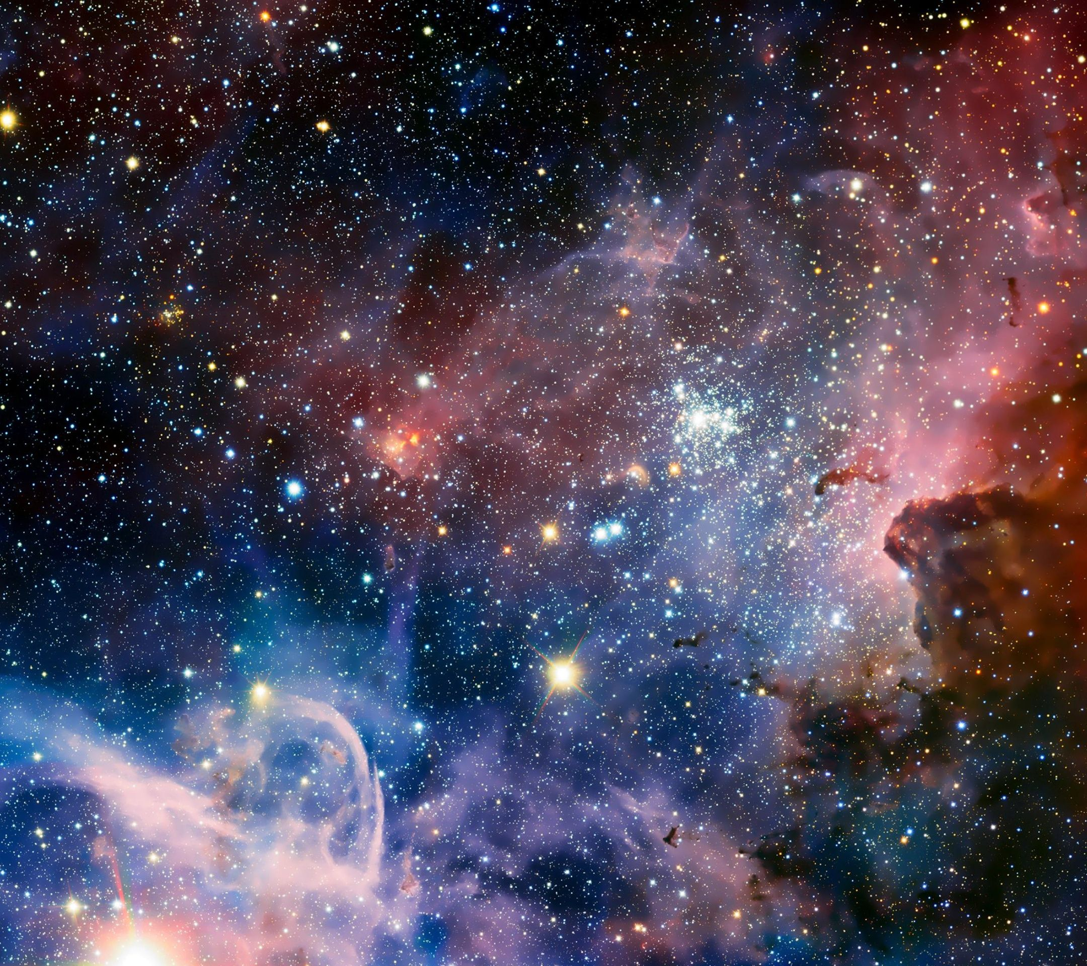 Nebula HD Wallpaper Samsung Galaxy S5 Wallpapers Free 2160x1920