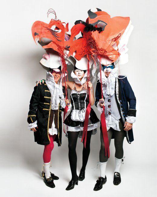 Giant Paper Faces and Masks Halloween masks, Masking and Masquerades - martha stewart halloween ideas
