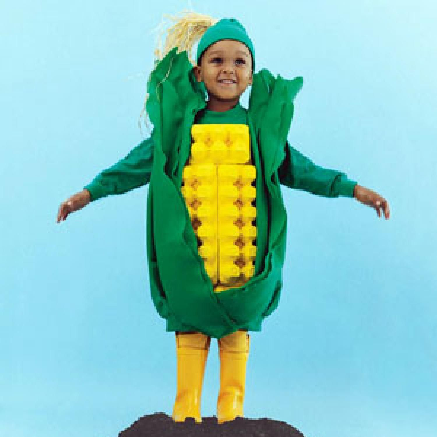 corn on the cob costume - Meteorologist Halloween Costume