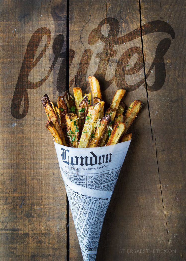 Photo of Oven Baked Garlic-Parmesan Fries — Jonathan Stiers