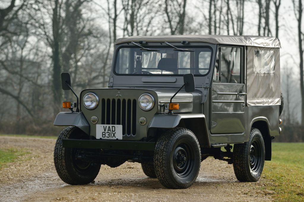 1961 82 Mitsubishi Jeep J20