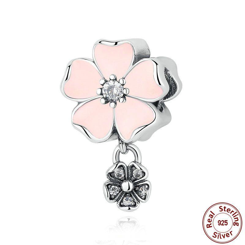 charm pandora fiori poetici