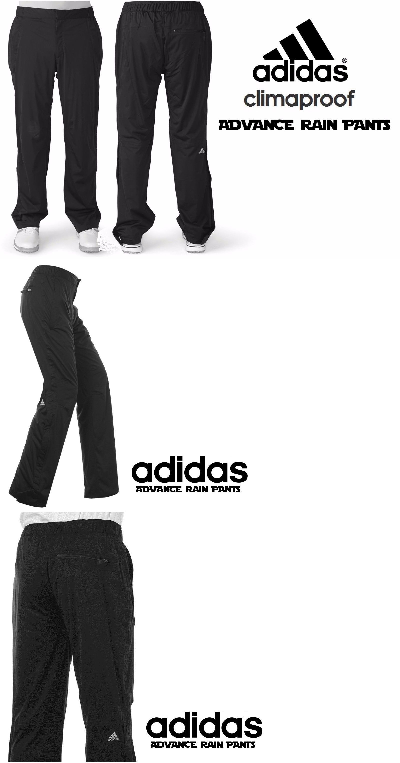 Other Mens Golf Clothing 181141: Adidas Climaproof Advance ...