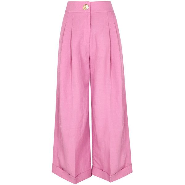 Sale Pictures Clearance 2018 Newest high waisted wide leg trousers - Red Marc Ellis Cheap Cost Cheap Footlocker Finishline so5WEee7q