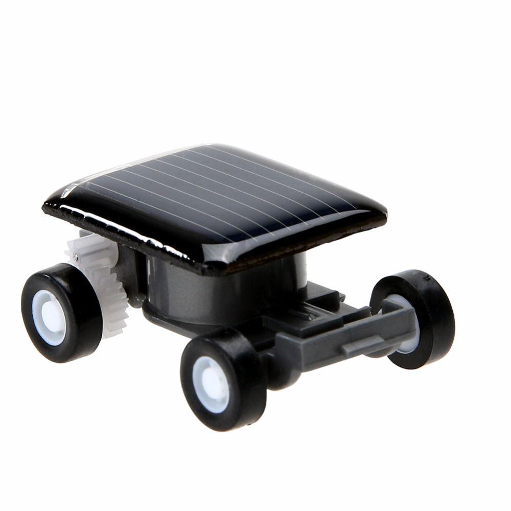 Toys car for baby  Smallest Mini Car Solar Powered Toy Car New Mini Children Solar Toy