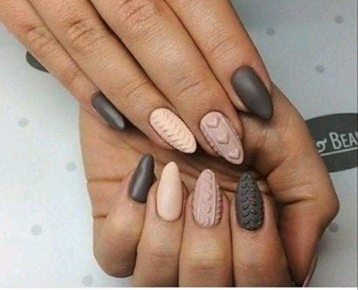 Shell nails - modne paznokcie 2020 w wersji 3D, które