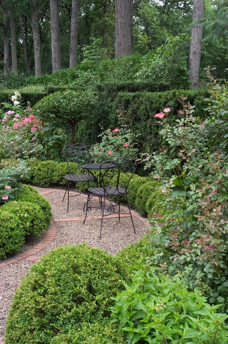 Decorative Traditional Pebbles Garden Patio Walkway Ideas | Knockout ...