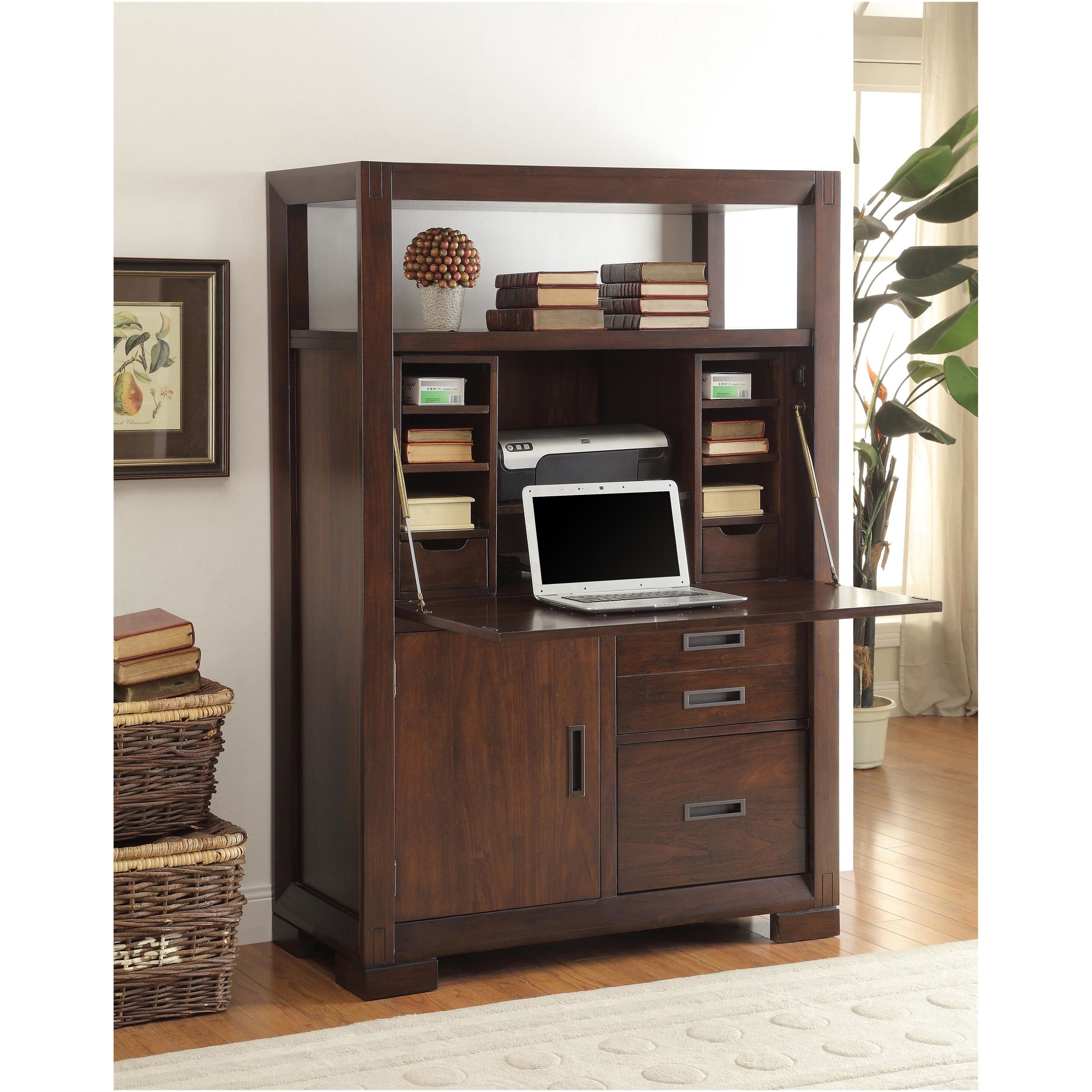 riverside furniture riata computer armoire the riverside furniture riata computer armoire is going to give you the workspace you need with the style that