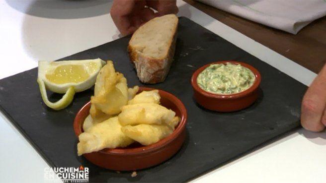 Tempura de poisson sauce tartare de philippe etchebest cuisine philippe etchebest recette - Recette cauchemar en cuisine ...