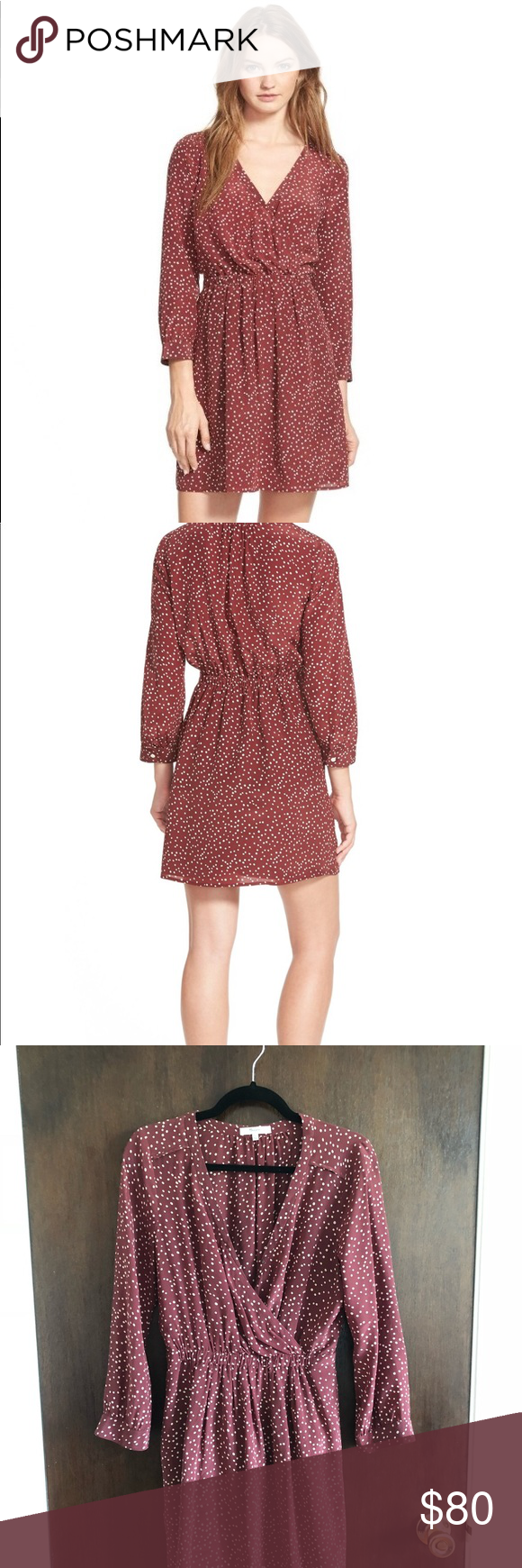 Kali dress madewell burgundy wrap dress my posh picks