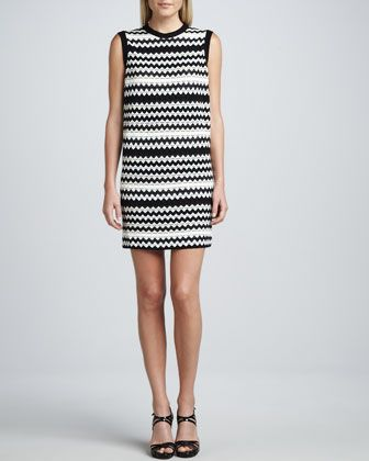 c8dc127d916 Missoni black and white shift dress at 60% off.