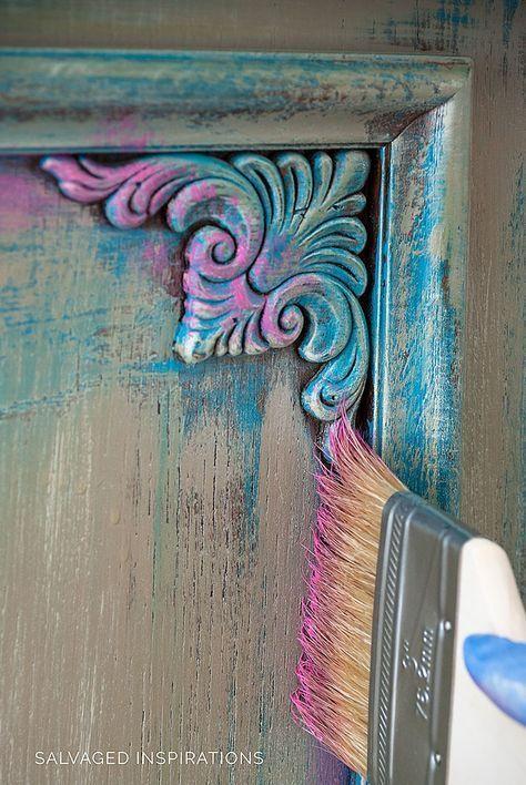 Photo of Möbelmalerei mit Wachs… Pink Wax! | Diy Möbel | HomeDesigner
