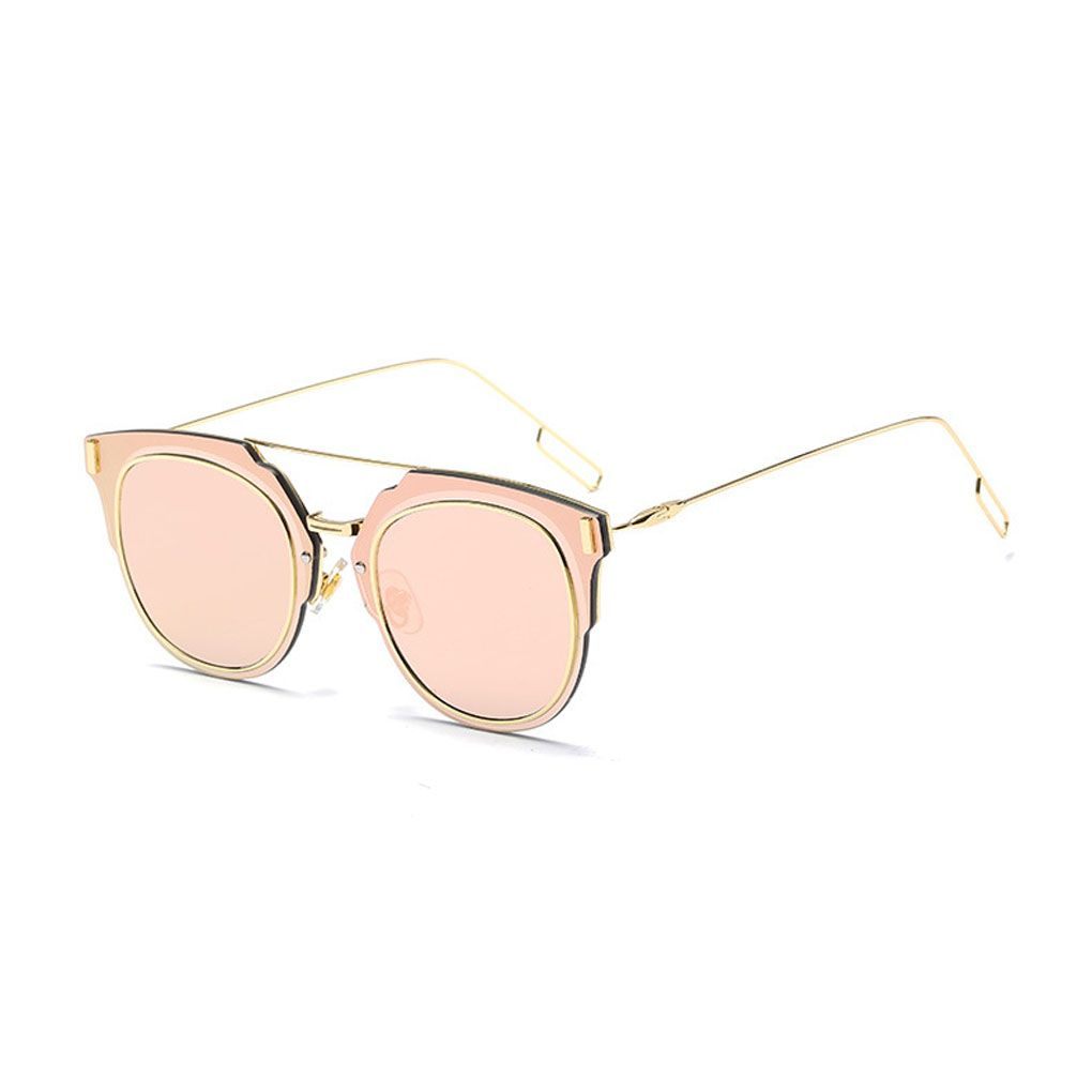 Click to buy ucuc stylish design hight level metal frame glasses