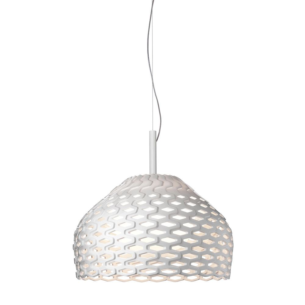 Discover the Flos Tatou S1 Suspension Light - White at Amara