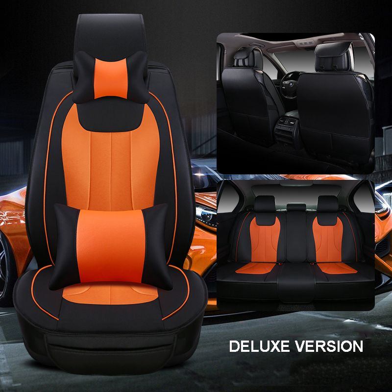 Luxury Leather Car Seat Cover Universal Seat Covers For Mitsubishi Lancer Pajero Sport Asx Cars Cushion Car Leather Car Seat Covers Leather Car Seats Car Seats
