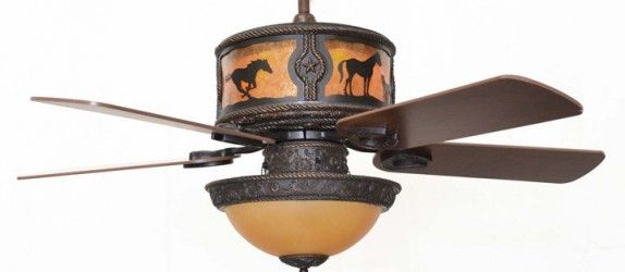 Ranch style ceiling fans ceiling fans are cheap but stylish sheridan ceiling fan with horses scene is a great western styled fan with almost limitless possibilities aloadofball Images