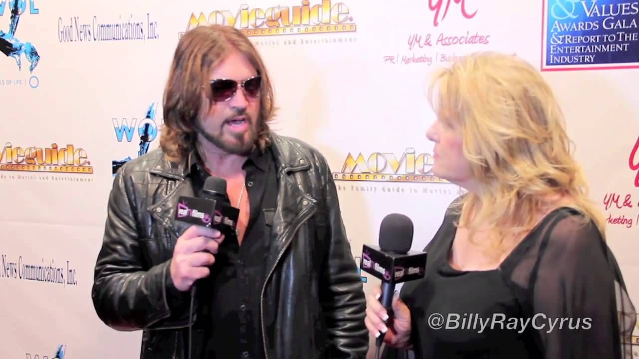 Billy Ray Cyrus,  Backstage Movieguide® Awards Gifting Suite (+playlist)
